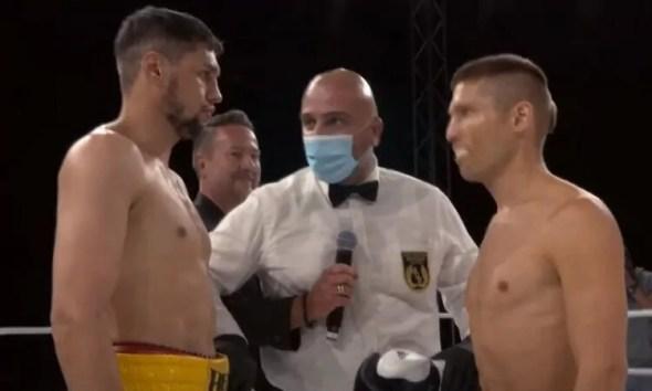 Ahmed El Mousaoui s'impose sans difficulté à la soirée Drive-In Boxing Night