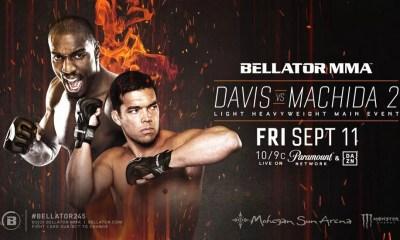 Bellator 245 - Résultats Machida vs Davis 2