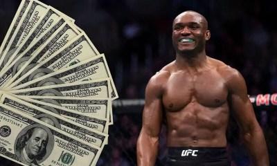 UFC 261 Salaires: Kamaru Usman empoche près de 700 000$