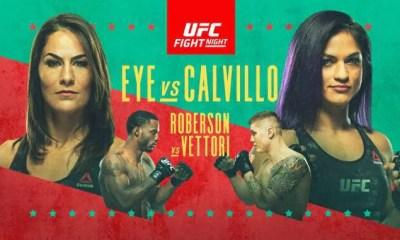 UFC VEGAS 2 Résultats - Eye vs Calvillo