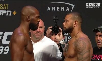 UFC 239 - JONES vs SANTOS - Vidéo et Résultats de la pesée