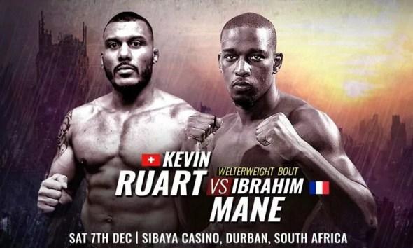 Ibrahim Mane vs Kevin Ruart - Combat de MMA - Replay Vidéo