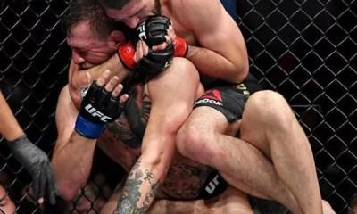 UFC - NURMAGOMEDOV soumet McGREGOR , une émeute éclate - VIDEO