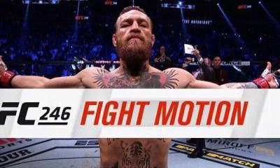 UFC 246 - Vidéo HL en Slow Motion