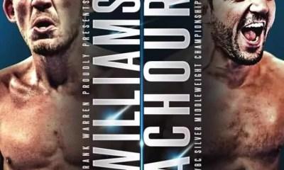 Boxe - Karim ACHOUR vs Liam WILLIAMS pour le WBC Silver !