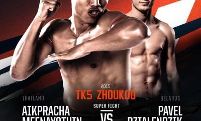 Aikpracha Meenayothin Vs Pavel Dzialendzik - Full Fight Video - TOP KING 5