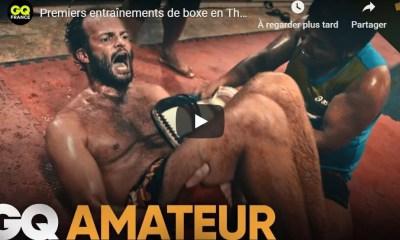 AMATEUR - S1 Ep 1 - Premiers entraînements de boxe en Thailande - VIDEO