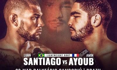 BRAVE CF - Amin AYOUB vs Luan SANTIAGO le 28 mars au Brésil