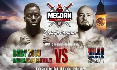 Aboubacar Bathily et Mamadou Sene en Serbie au Megdan Fighting 7