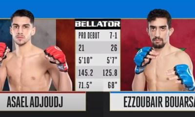 BELLATOR MMA - revivez en vidéo les combats d' Asael ADJOUDJ et Ezzoubair BOUARSA