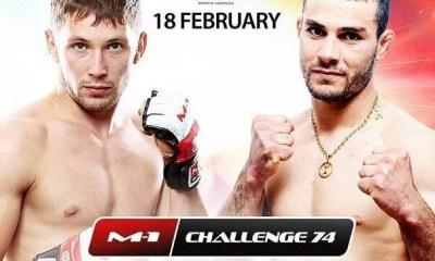 Moktar BENKACI vs Vitaly BRANCHUK - Full Fight Vidéo - M-1 Challenge 74