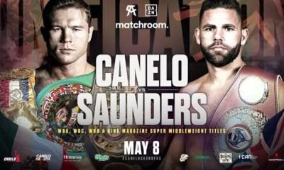 Canelo vs Saunders - Comment suivre le combat en direct en France ?