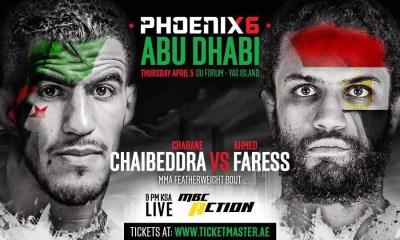 MMA - AYOUB, CHAIBEDDRA et les Frères IMAVOV bookés au PHOENIX FC 6 !