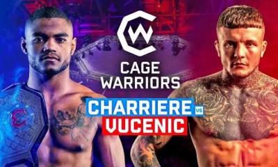 Morgan Charrière vs Jordan Vucenic - Comment regarder le combat en direct ?