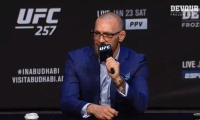UFC 257 - Suivez la conférence de presse en Direct