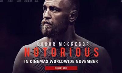 CINEMA - Conor McGREGOR: Notorious - Sorties du film - Teaser Video