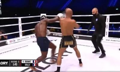 Video HL - Cedric Doumbe met KO Karim Ghajji au round 3