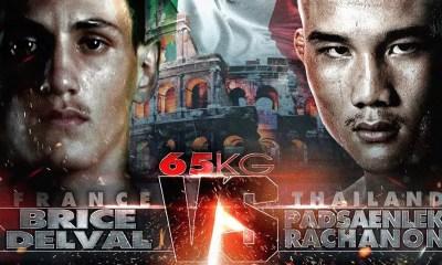 Brice DELVAL vs PADSANLEK - Muay Thai Video - THAI FIGHT ITALY