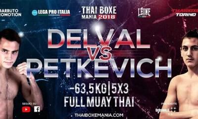 Brice DELVAL vs Mathias GALLO CASSARINO - Muay Thai Fight Video - Thai Boxe Mania 2017