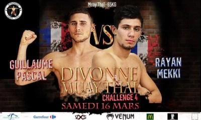Rayan MEKKI vs Guillaume PASCAL au Divonne Muay Thai Challenge 4