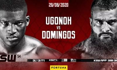 Ruskov Domingos affrontera le boxeur Izuagbe Ugonoh au KSW 54