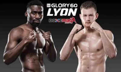GLORY 60 LYON - GRIGORIAN out, Cedric DOUMBE affrontera Jimmy VIENOT