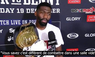 ITV - Cedric Doumbé revient sur sa victoire sur Karim Ghajji