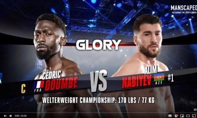 Cedric DOUMBE vs Alim NABIEV 2 - Full Fight Video - GLORY Kickboxing