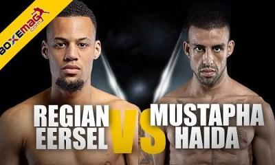 ONE - Regian Eersel défendra sa ceinture face à Mustapha Haida