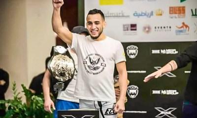 Elias BOUDEGZDAME vs Austin ARNETT  le 31 janvier avec l'UAE Warriors