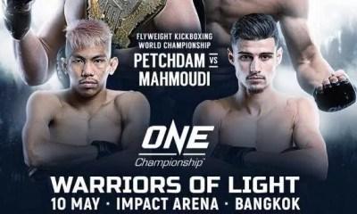 ONE FC - Elias MAHMOUDI vs PETCHDAM en combat de championnat !