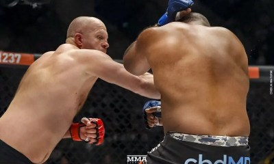 VIDEO - Fedor Emelianenko met KO Rampage Jackson en 3 minutes