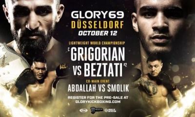 GLORY 69  DUSSELDORF - GRIGORIAN vs BEZTATI - Full Fight Card