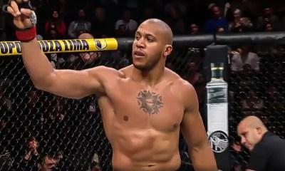 Ciryl GANE est rentré dans le TOP 5 du ranking officiel de l'UFC