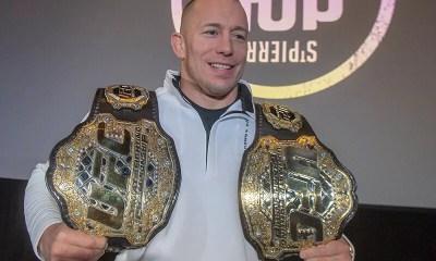 Georges St-Pierre intégrera le Hall Of Fame de l'UFC cet été