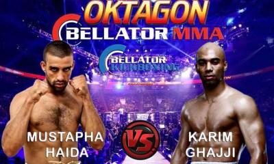 Karim GHAJJI vs Mustapha HAIDA 2 - Full Fight Video - BELLATOR