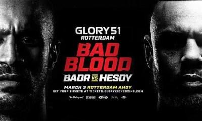 GLORY 51 - Badr HARI vs Hesdy GERGES - Direct Live, Vidéo et Résultats de la pesée