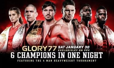 GLORY 77 - Direct Live Stream et Résultats des combats
