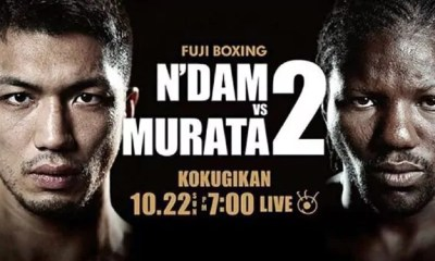 Hassan N'DAM vs Ryota MURATA 2 - Combat de Boxe - Fight Vidéo