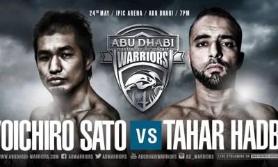Tahar HADBI vs Yoichiro SATO - Full Fight Video - ADW 4