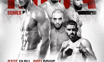 Rafi BOHIC vs Azize HLALI à la Nuit des Titans MMA Séries