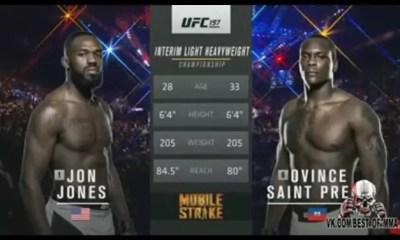 Jon JONES vs Ovince SAINT PREUX - Full Fight Video - UFC 197