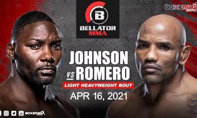 Le combat Yoel Romero vs Anthony Johnson officialisé pour le Bellator 257