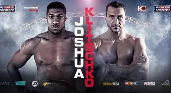 Anthony JOSHUA vs Wladimir KLITSCHKO - Full Fight Vidéo