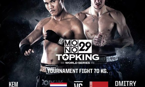 Kem Sitsongeenong vs Dmitry Varets - Full Fight Video - TOP KING 8