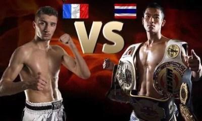 Antar KACEM vs KITTISAK Noiwibon à Bernex au Thai Tournament 7