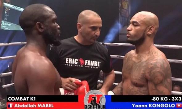 Yoann KONGOLO vs Abdallah MABEL - Full Fight Video - Fight Legend