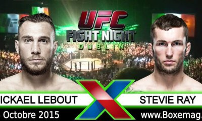 Mickael Lebout vs Stevie Ray - Full Fight Video UFC FN 76