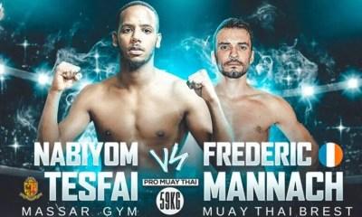 GVA Fight Night - Le Massar Gym organise un gala de Muay Thai et K-1