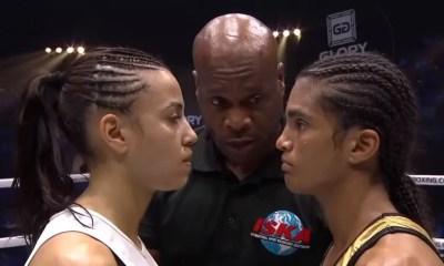 Anissa MEKSEN vs Amel DEHBY - Combat de Kickboxing - VIDEO